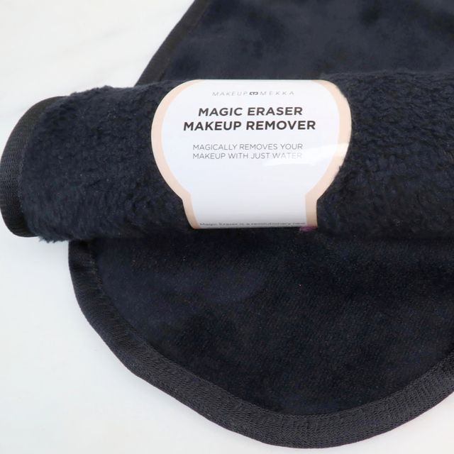 Magic Eraser Makeup Remover - Black